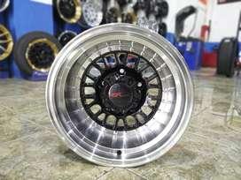 velg katana lebar AGATS 7134 HSR Ring 15X10 H5X139,7 ET-44 BML