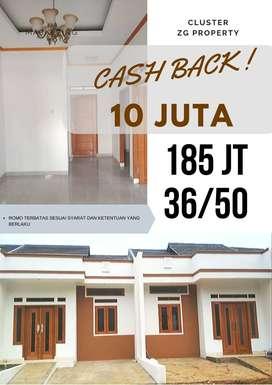 Rumah murah exclusive di citayam promo cash back 10 juta