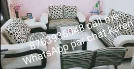Sofa set 3 seater with centre table