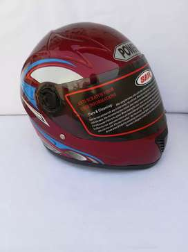 Protect your face on road stylish helmet