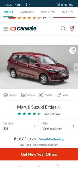 Car rent for Ertiga