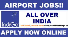 Hiring in Airlines job on roll Vacancy for full time  we have urgent r