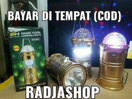 lampu emergency ada lampu disko nya