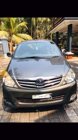 Toyota innova service done through company only