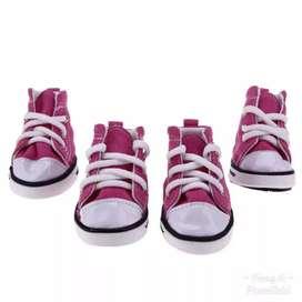 Sepatu anak anjing 4 psc