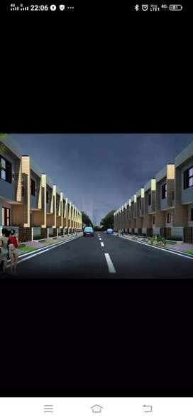 3bhk duplex villa in gated township in mansarowar extension muhana