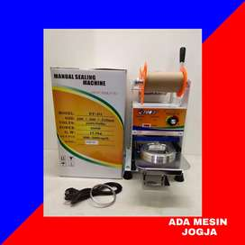 Mesin Cup Sealer Mollar By Eton ET D1 Alat Press Penutup Plastik Gelas
