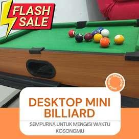 Dijual desktop mini billiard penghilang stress. Mulus