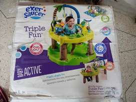 Exer saucer triple fun baby active