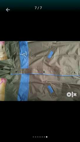 Raincoat for kids XL size no used