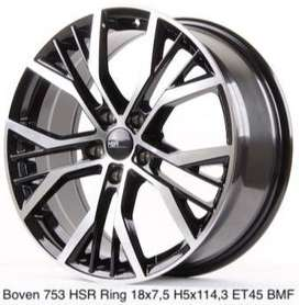 velg model 753 HSR R18X75 H5X114,3 ET45 BMF