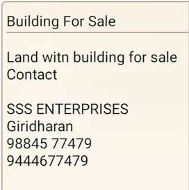 Land with Building for sale
