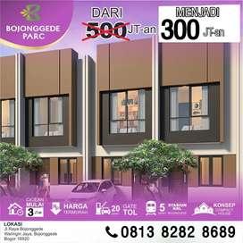 Bojonggede Parc Rumah 2 lantai murah dekat stasiun Bojonggede Cilebut