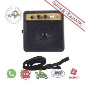 MaxP Amplifier Mini Gitar Elektrik 5W 6.35mm Input 1/4 Inch Headphone