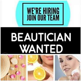 Experienced Female beautican required