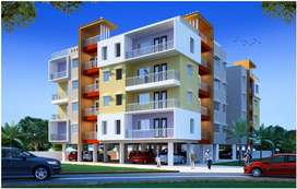 3 bhk new flat at singh more available for sale 47.24 lac