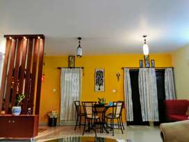 3 BHK  spacious semi furnished flat ready to move for immediate sale