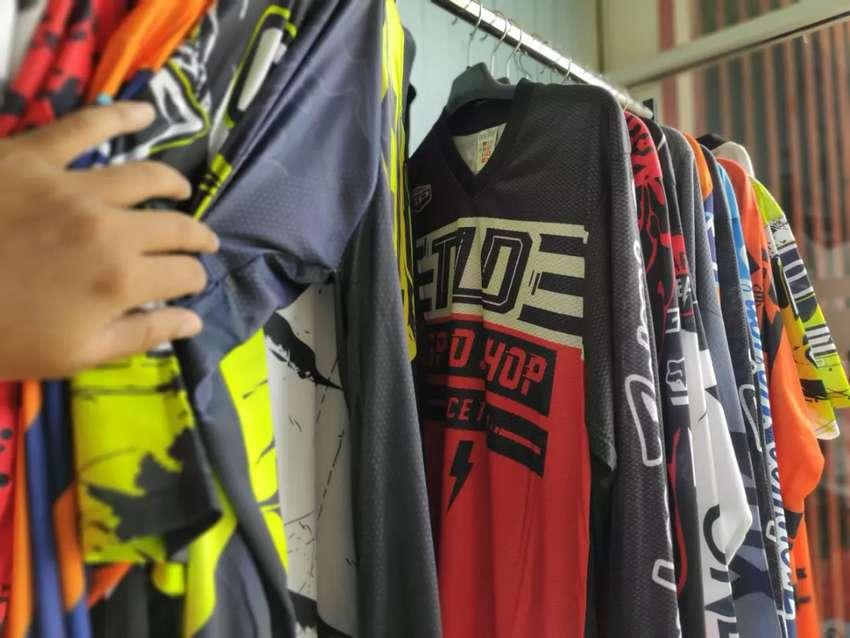 Pakaian Jersey Motif Sepedah ft64 0