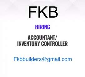 Accountant/Inventory controller
