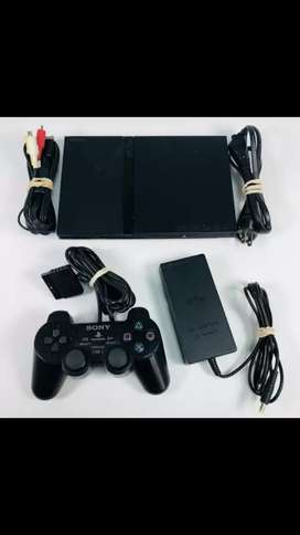 I'M SELLING PLAYSTATION 2 COMPLETE WITH 80gb HARD DRIVE