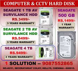 NEW HARD DISK NEW YEAR OFFER RATE!