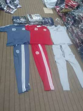Three colours tracksuit