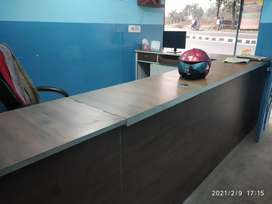 Office counter plus rack