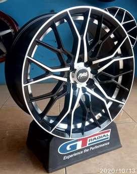 Velg racing bisa buat mobil Avanza ignis Vios R17-7.5h8-100/114.3 et40
