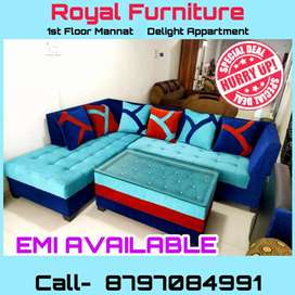 Luxurious L type Sofa at Wholesale prices with best Quality