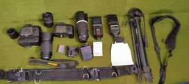 Nikon D90 full set with all equipment included