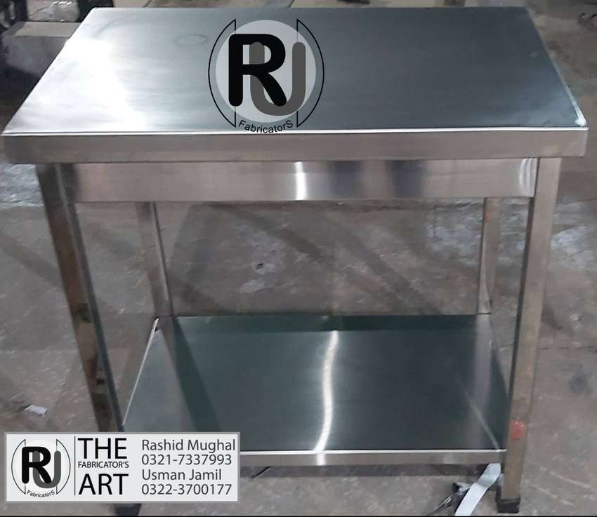 Working Table, Cutting Table, Pickup Table, Breading Table 0