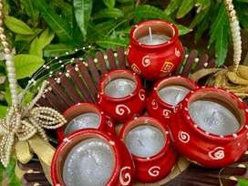 Homemade Matka Candles