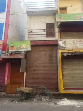 Commercial building on main road aminabad