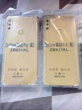 New Zenfone max pro M2 Softcase Anti crack Tebal