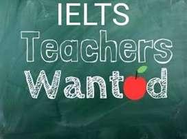 Ielts teacher required