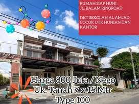 Rumah Dijual Cepat 2 Lantai Minimalis Murah Mewah Siap Huni