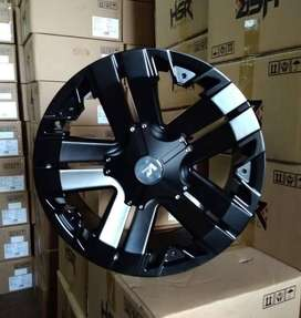 Velg Mobil Ring 20 HSR V-ROCK Hole 6 Fortuner Pajero Triton Everest