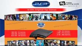 Sony PlayStation 3 PS3 1Tb 80+ Top Games 1Year Warranty Refurbished