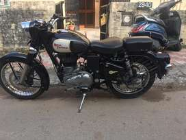 Royal Enfield CLASSIC BLACK Chandigarh number