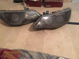 Honda Civic reborn modified headlights
