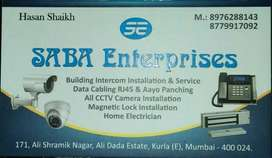 CCTV camera.Service charges, 750.
