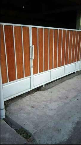 Pintu gerbang wookplenk. Bahan galvanis boss