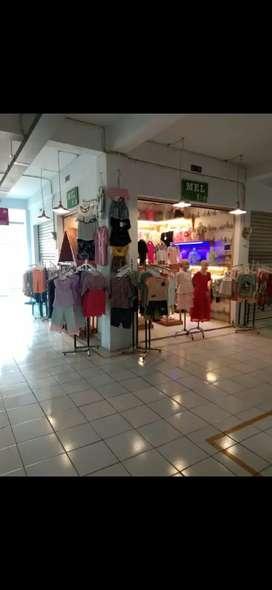 Dijual Kios Murah Ramai di Pasar Gudang Tigaraksa Tangerang