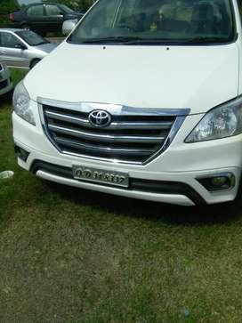 Toyota Innova 2.5 G 8 STR BS-III, 2014, Diesel