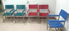 Accountant office table with set of 6 chairs