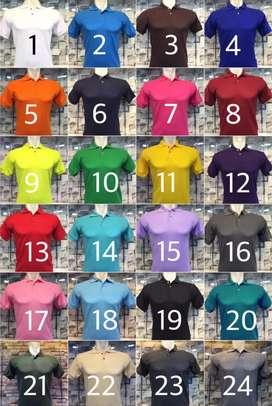 Kaos polo shirt polos dan kombinasi grosir
