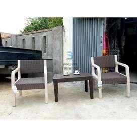 Kursi teras / kursi santai / meja teras Olymplast
