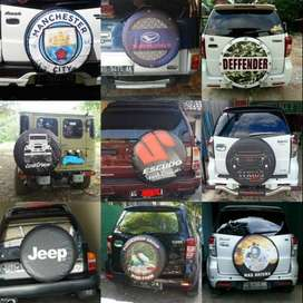 Cover/Sarung Ban Jeep/Rush/Terios/Touring/Ecosport/Dsb MLD muantap jos