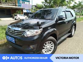 [OLXAutos] Toyota Fortuner 2012 2.5 G AT Automatic Solar Hitam