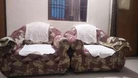 Three sofa, one long sofa and two small sofa